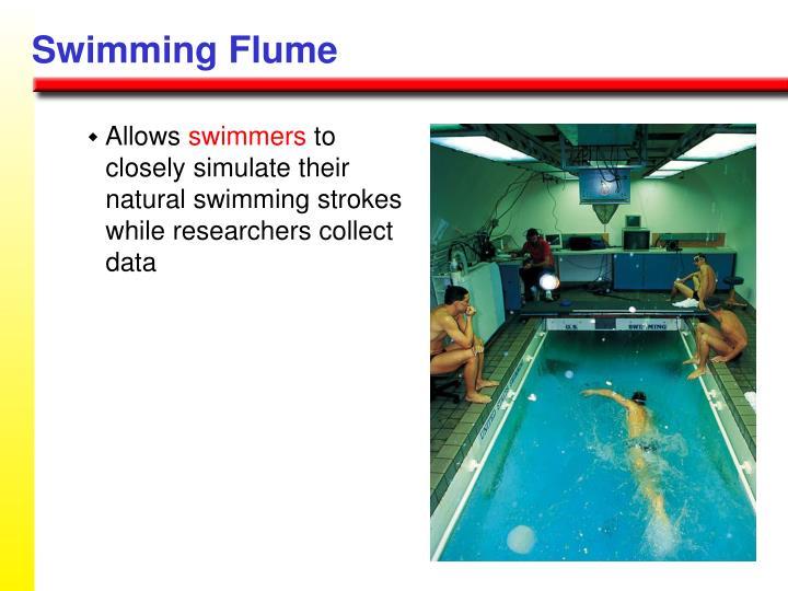 Swimming Flume