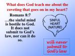 what does god teach me about the coveting that goes on in my heart3
