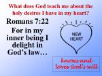 what does god teach me about the holy desires i have in my heart2