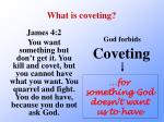 what is coveting1