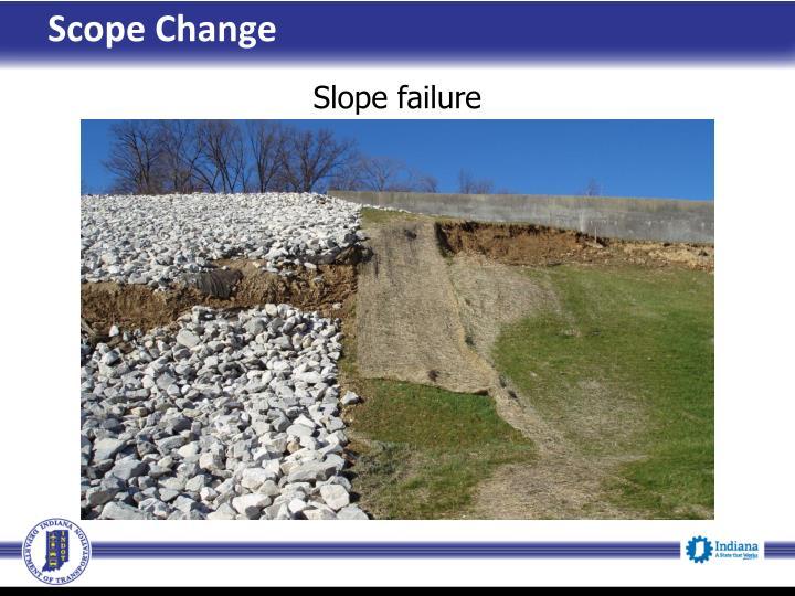 Scope Change