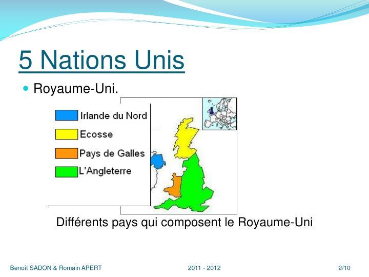 5 nations unis