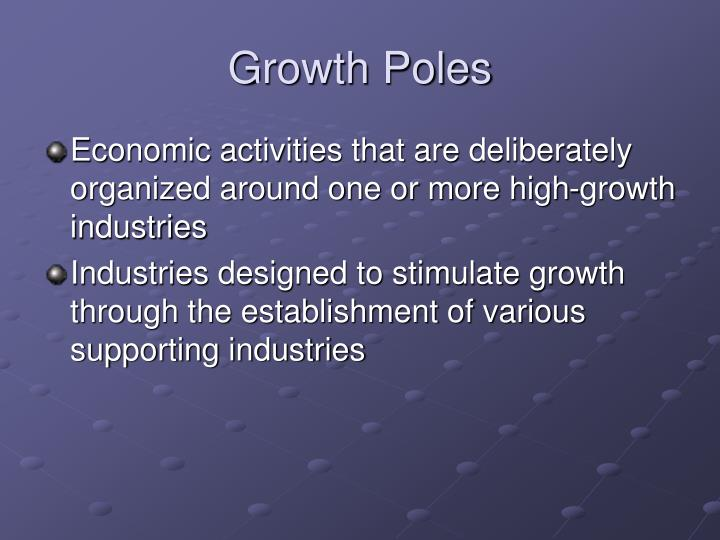Growth Poles