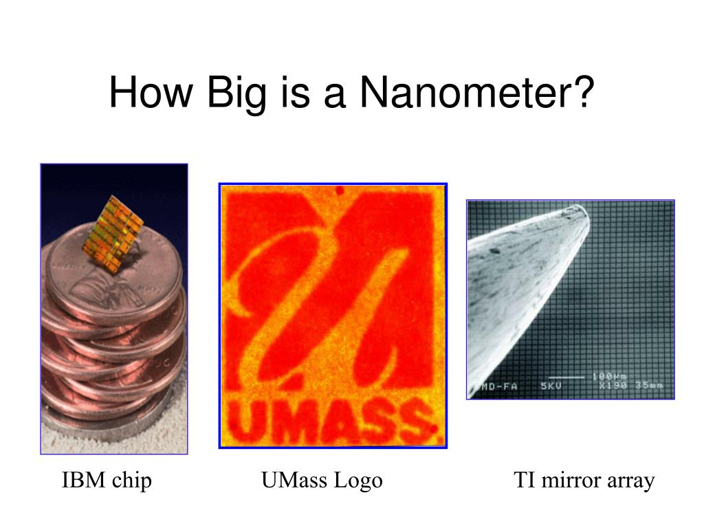 ppt how big is a nanometer powerpoint presentation id 6551300