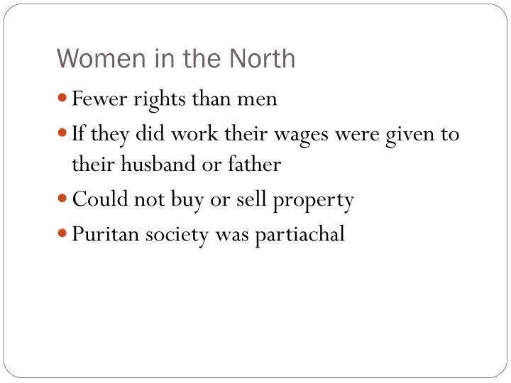 Women in the North