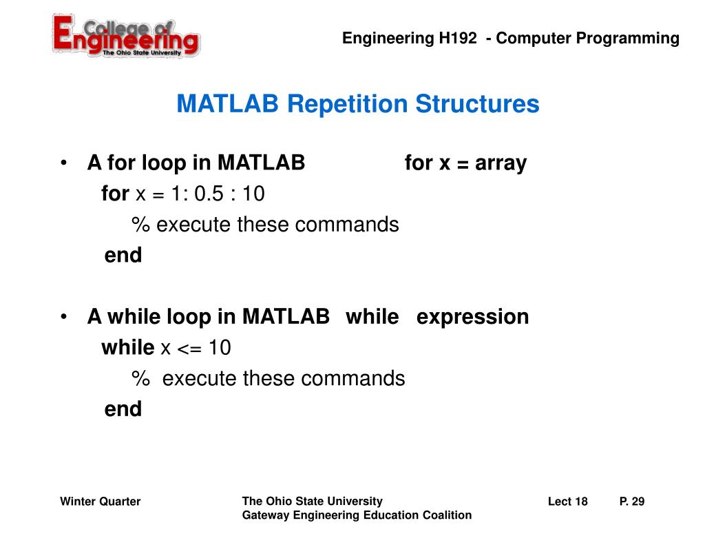 PPT - Introduction to MATLAB PowerPoint Presentation - ID:6551893