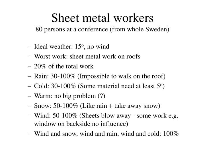 Sheet metal workers 80 persons at a conference from whole sweden