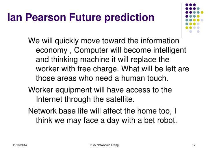 Ian Pearson Future prediction