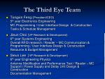 the third eye team