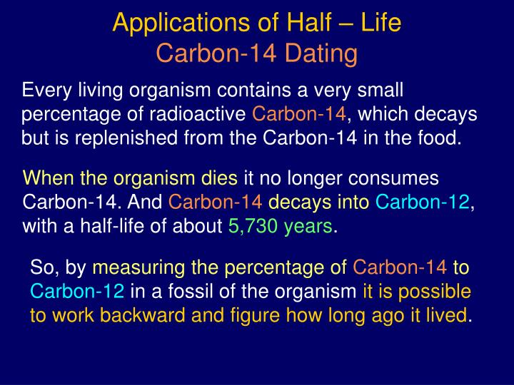Carbon 12 en carbon 14 Carbon dating
