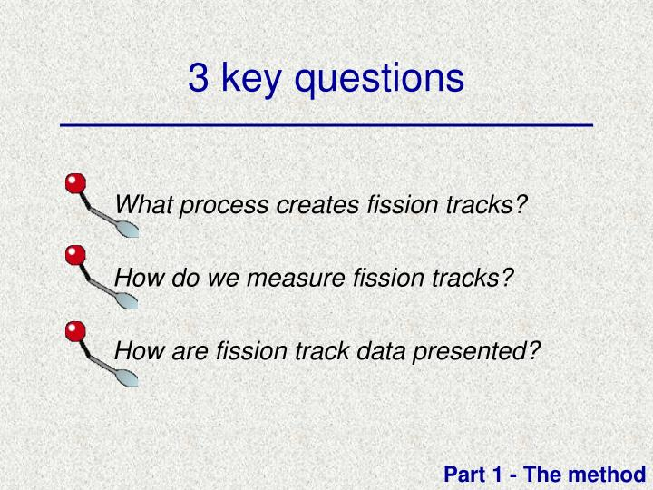 Fission track dating ppt background