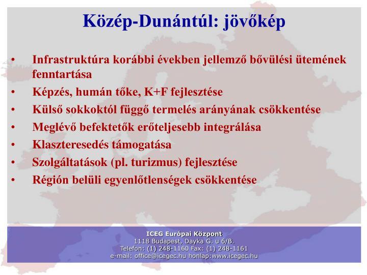 Közép-Dunántúl: jövőkép