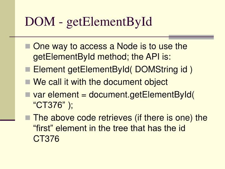 Ppt Dom Powerpoint Presentation Id 6555029