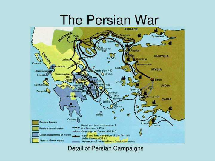 the persian war n.