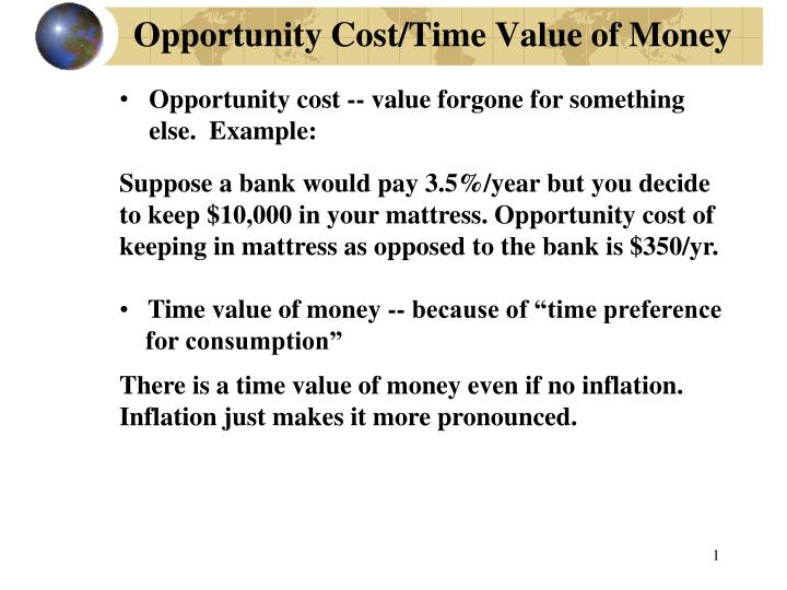 Time Value Of Money Real Example