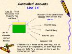 controlled amounts line 14
