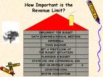 how important is the revenue limit