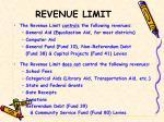 revenue limit
