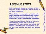 revenue limit1