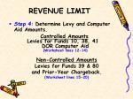 revenue limit2