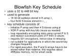 blowfish key schedule