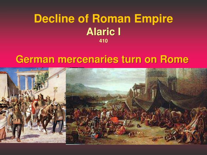 Decline of Roman Empire