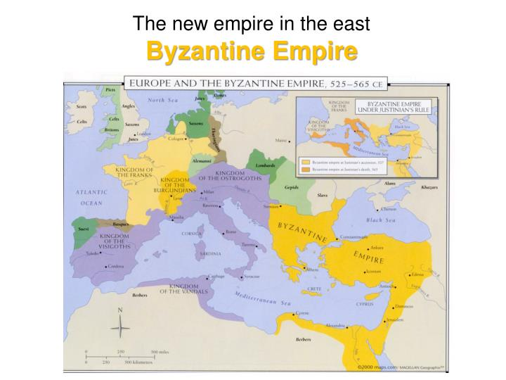 The new empire in the east