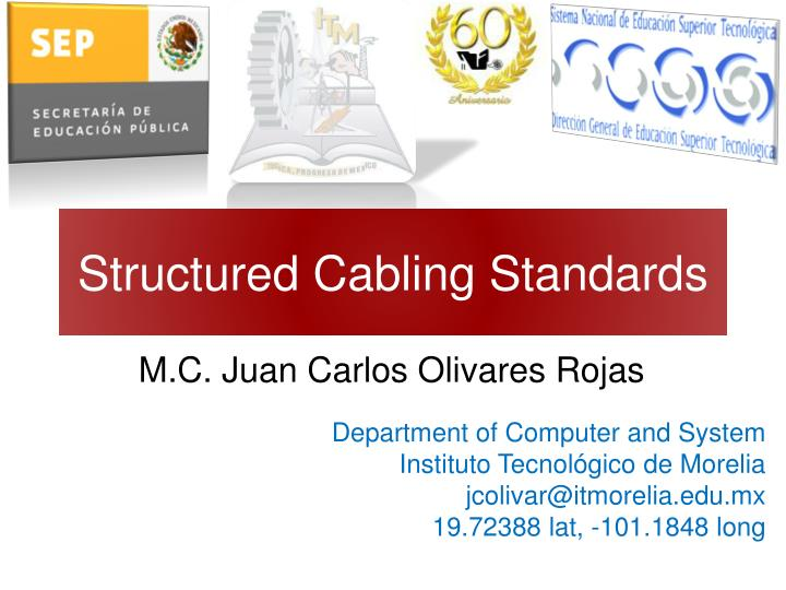 structured cabling standards n.
