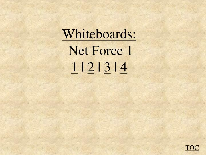 Whiteboards: