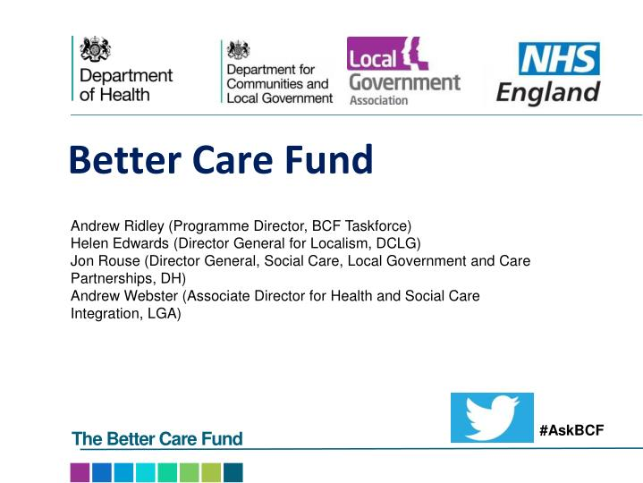 better care fund n.