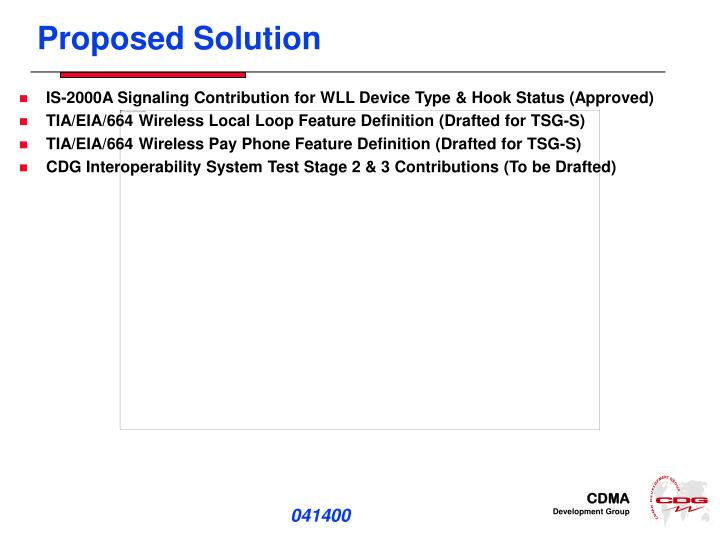 Ppt Wireless Local Loop Problem Statement And Proposed Solution