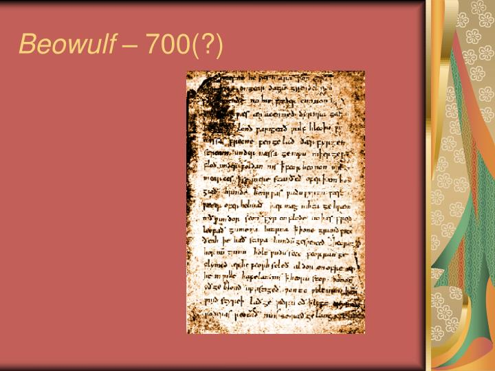 metaphors and exaggeration used in the epic poem beowulf Definition: wyrd is an anglo-saxon term for fate that was used to represent inevitability in old english poerty example from text: here, beowulf is referring to the ultimate fate, or wyrd, to death as it awaits everyone in the end.