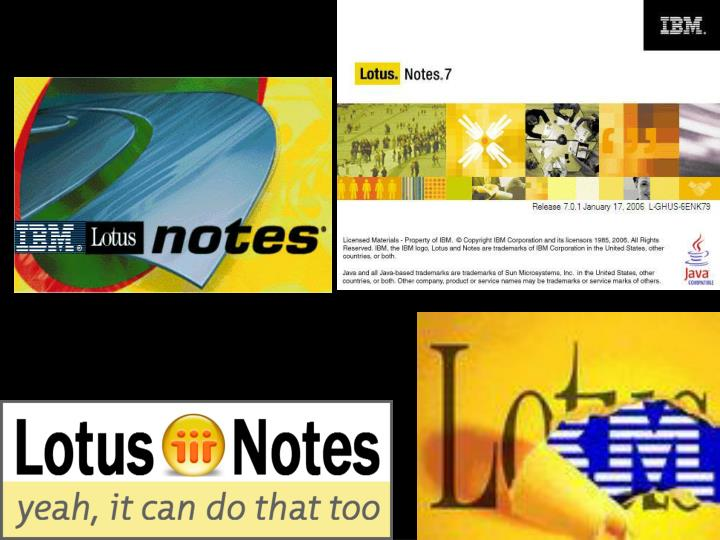 To je to lotus notes