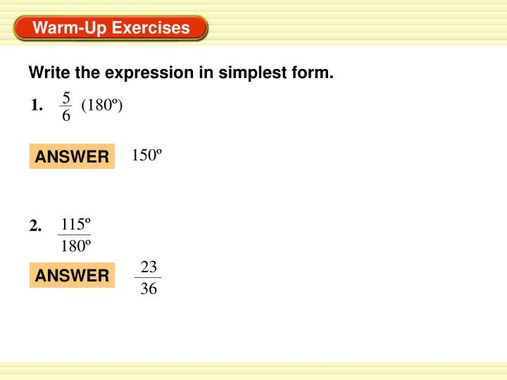 simplest form expression  PPT - Write the expression in simplest form. PowerPoint ...