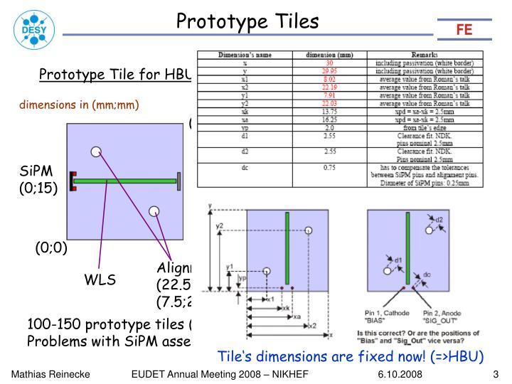 Prototype Tiles