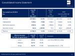 consolidated income statement4
