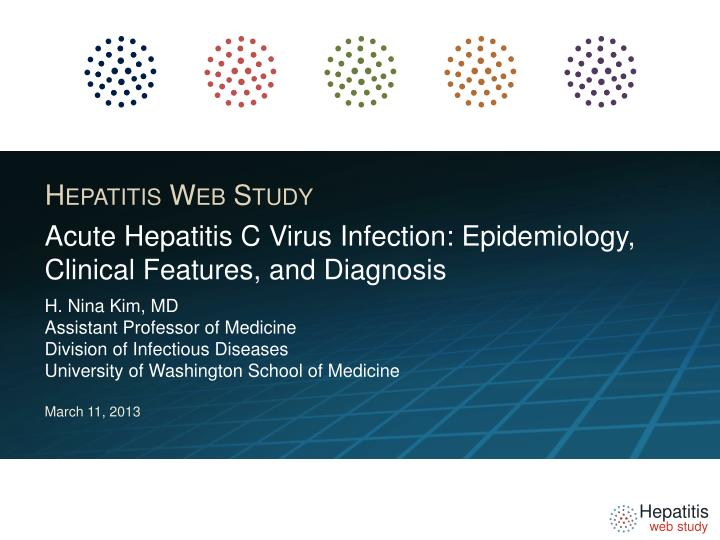 acute hepatitis c virus infection epidemiology clinical features and diagnosis n.