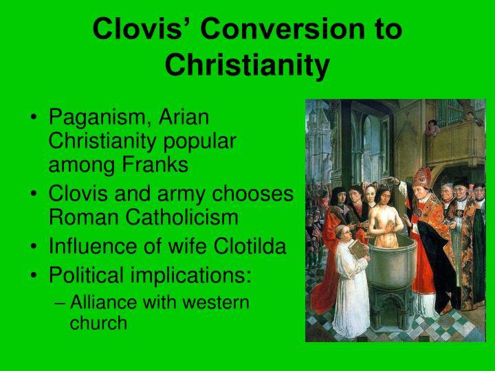 Clovis' Conversion to Christianity