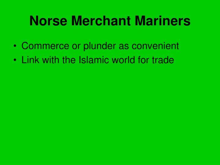 Norse Merchant Mariners
