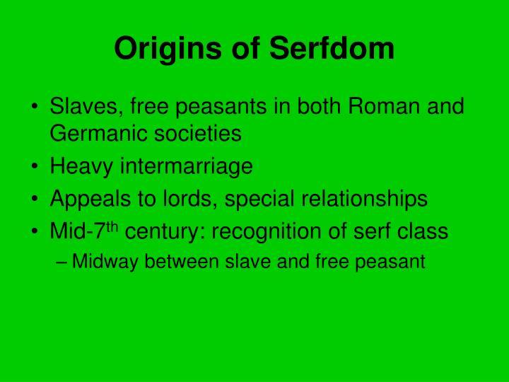 Origins of Serfdom