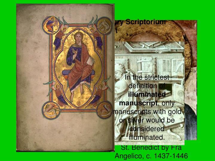 A late 15th-century Scriptorium by of Jean Miélot