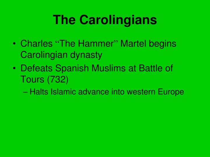 The Carolingians