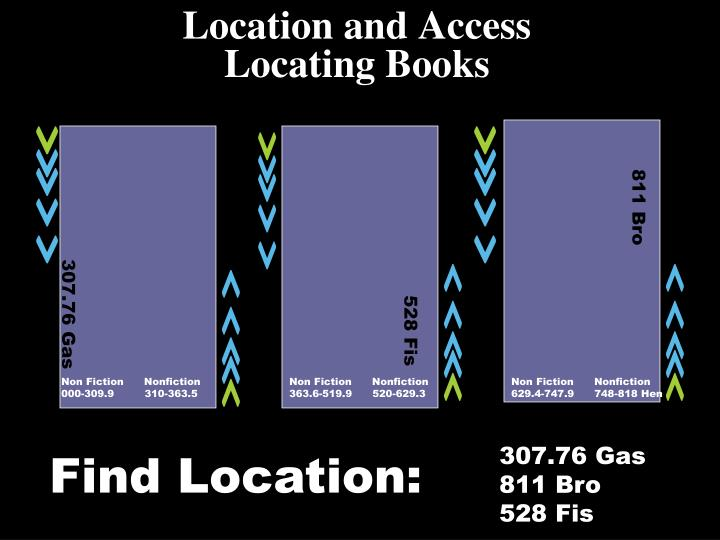 Location and Access