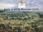 battle of white mountain 1620
