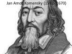 jan amos komensky 1592 1670
