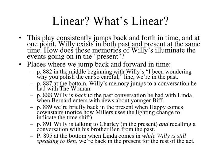 Linear? What's Linear?