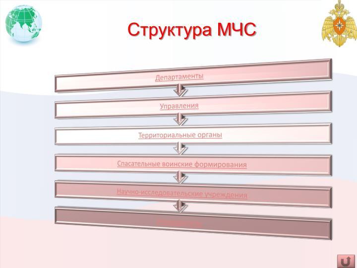 Структура МЧС