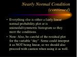nearly normal condition continued1