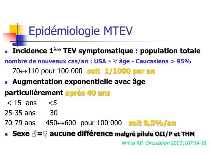 Epid miologie mtev