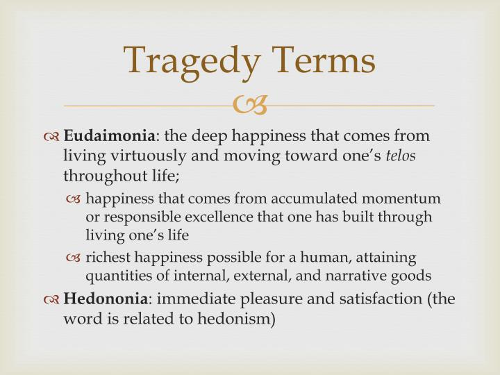 Tragedy Terms